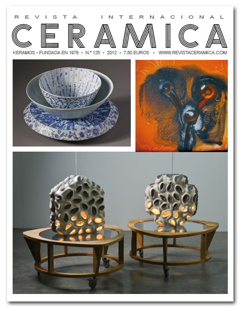 Revista cer mica n m 125 for Curso ceramica madrid