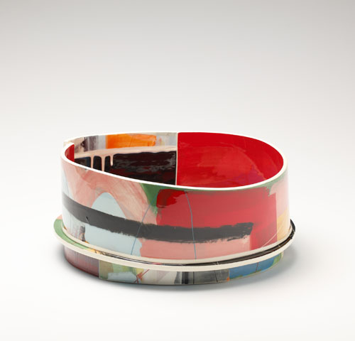 Pieza de cerámica de Elke Sada