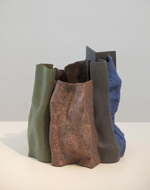 Pieza de cerámica de Ken Eastman