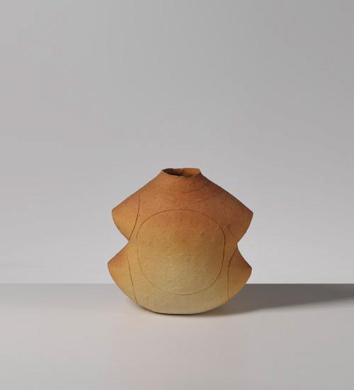 Pieza cerámica de Yasuhisa Kohyama