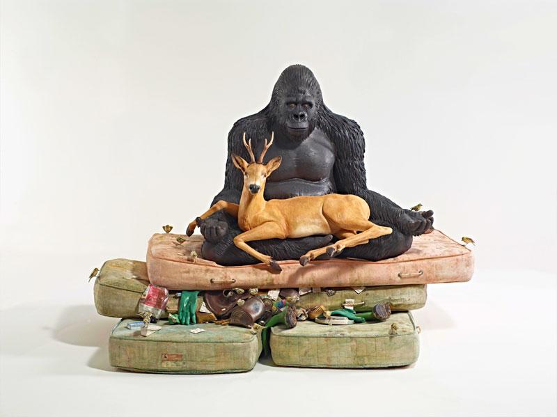 Escultura de Bertozzi y Casoni