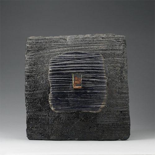 Pieza de escultura cerámica de Pompeo Pianezzola