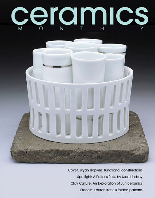 Portada de Ceramics Monthly