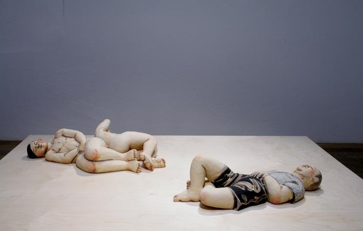 Escultura de Akio Takamori