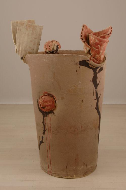 Escultura cerámica de Miquel Barceló