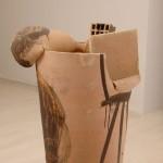Pieza de cerámica de Miquel Barceló