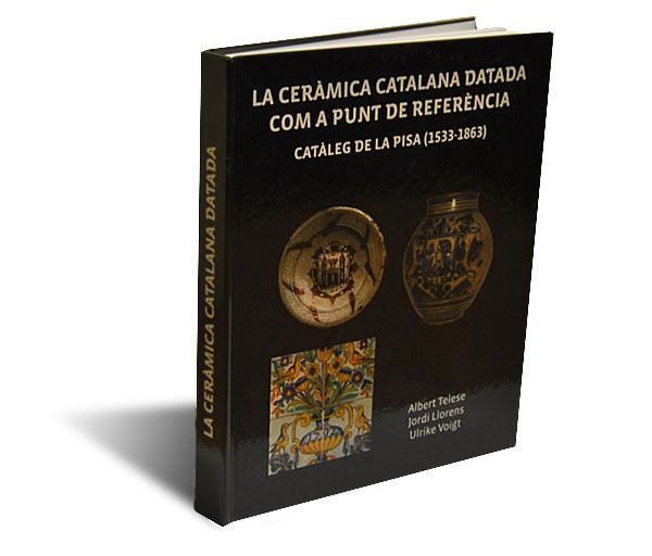 Portada del libro La ceramica catalana datada com a punt de referència