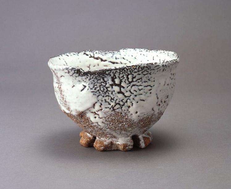 """Cuenco de cerámica """"Hagi"""" de Miwa Jusetsu"""