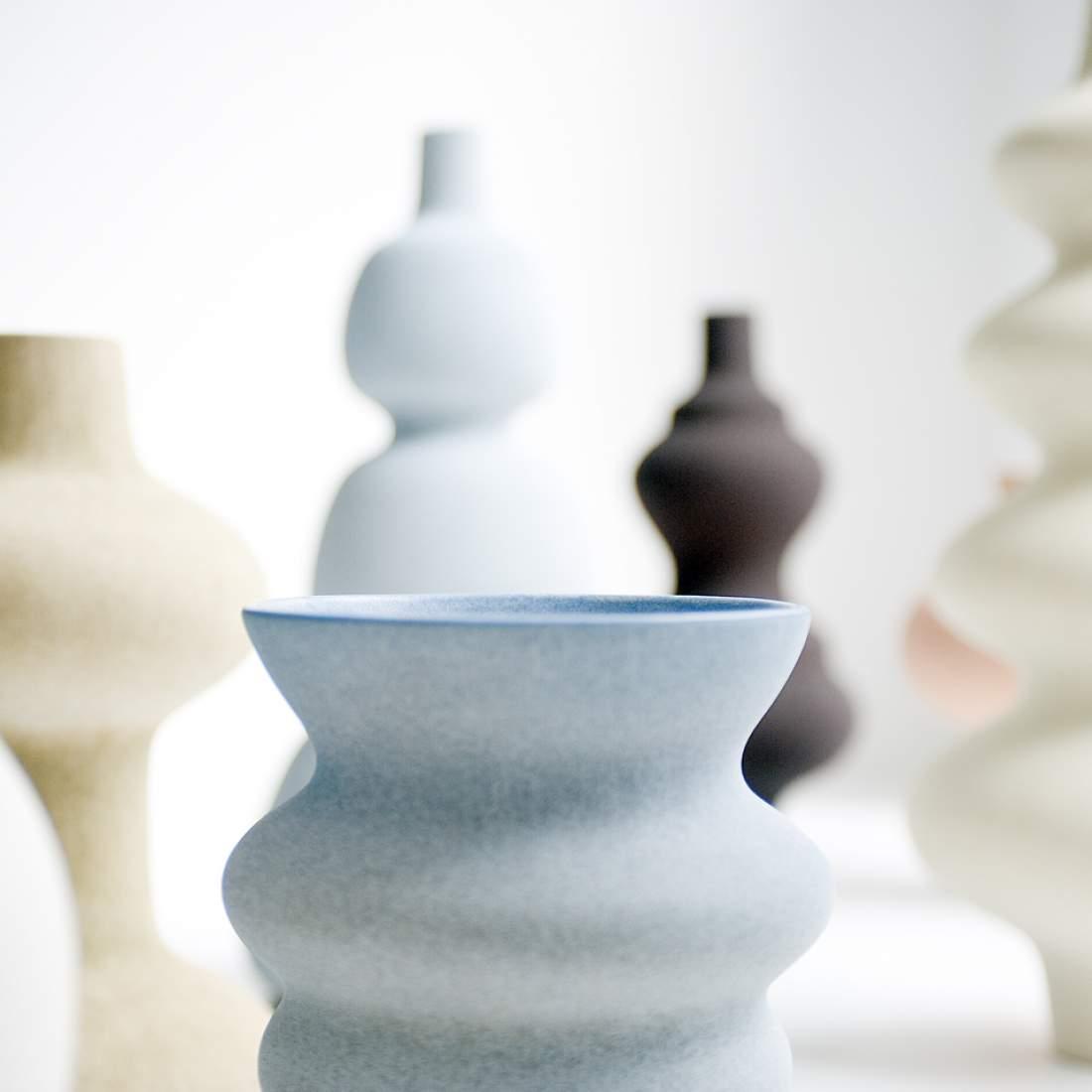 Pieza cerámica de Turi Heisselberg