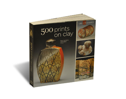 Portada del libro 500 Prints on Clay