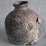 botella de cerámica de Masakazu Kusakabe