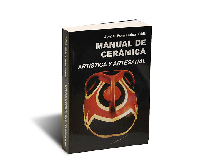 Portada del libro Manual de cerámica, de Jorge Fernández Chiti
