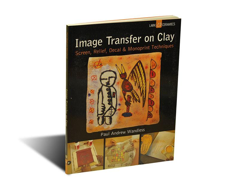 """Portada del libro """"Image Transfer on Clay"""""""