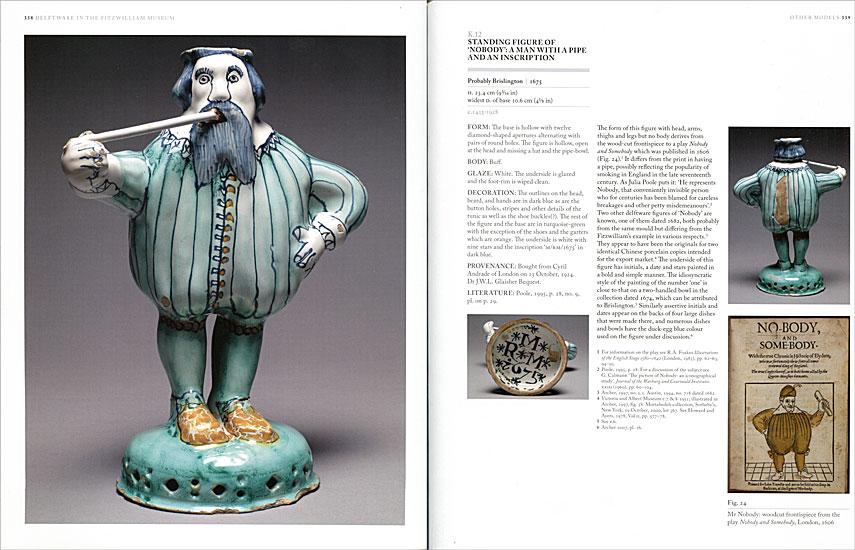 Páginas interiores del libro Delftware, de la editorial Philip Wilson