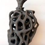 Pieza de cerámica de Gloria Auleda