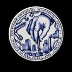 Pieza de cerámica de Xavier Monsalvatje