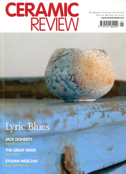 Portada de la revista Ceramic Review