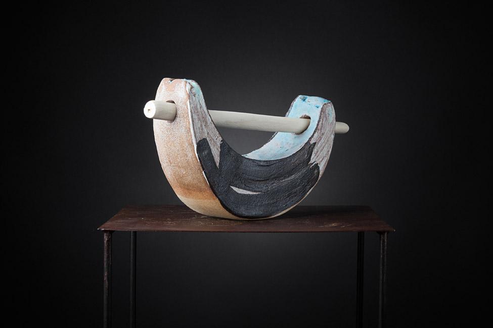Pieza de cerámica de Camil.la Pérez Salvà