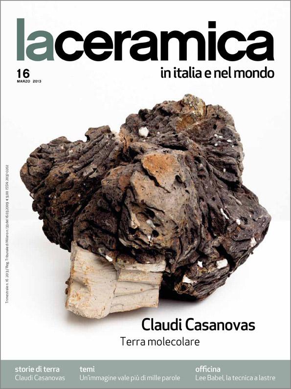 Portada de la revista La ceramica in Italia e nel mondo