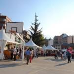 vista de la Feria de cerámica de Ponferrada 2013