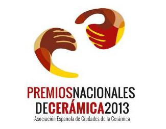 Logo de los Premios Nacionales de Cerámica 2013