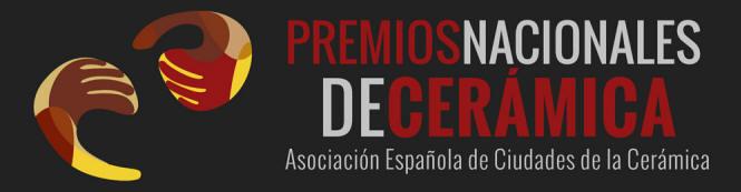 Cartel de los Premios Nacionales de Cerámica