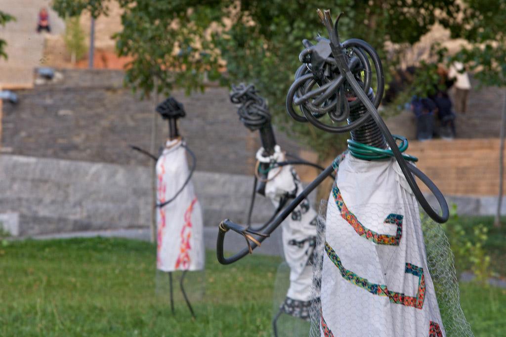 Escultura de Ana Jiménez