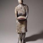 Escultura cerámica de Su-pi Hsu