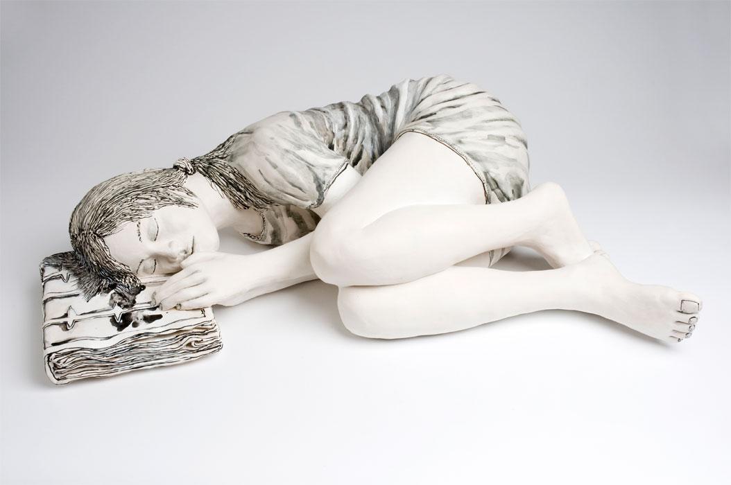 Escultura cerámica de Katharine Morling