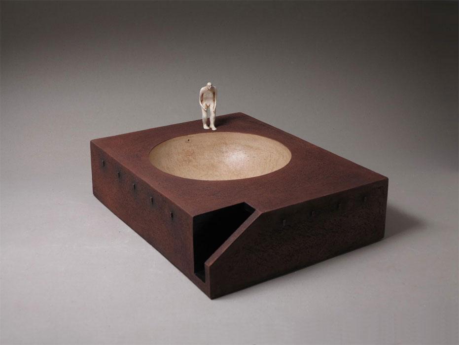 Pieza de cerámica de Su-pi Hsu