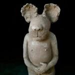 Pieza e cerámica de Sophie Favre