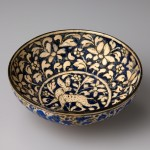 Pieza de cerámica islámica, Museo Ariana (Ginebra, Suiza)