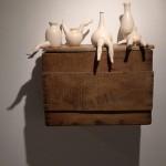 Pieza de cerámica de Carmen González