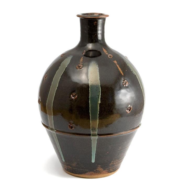 Pieza de cerámica de Jim Malone