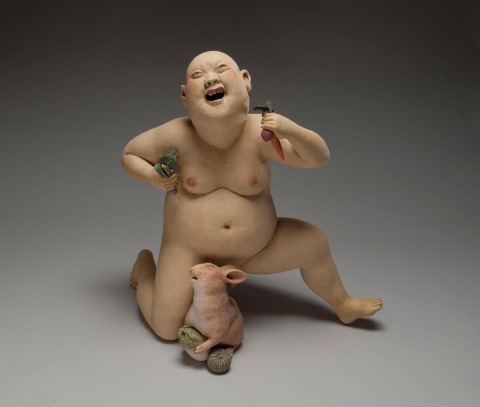 Pieza de cerámica de Esther Shimazu