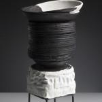 Escultura cerámica de Elena Colmeiro
