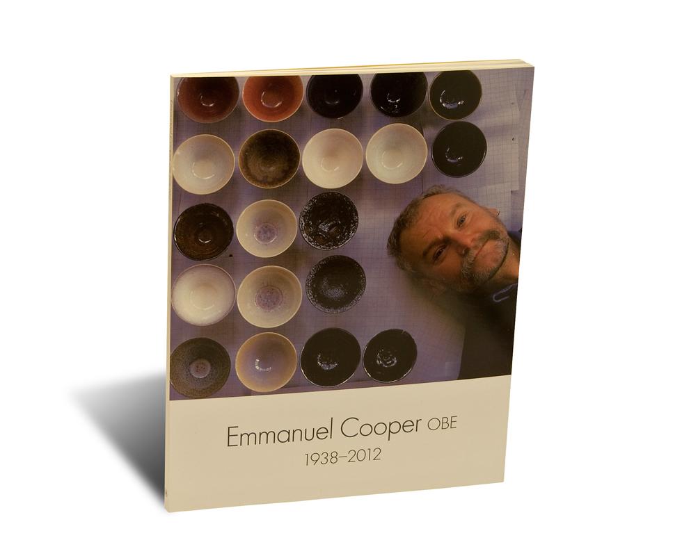 Portada del libro Emmanuel Cooper OBE 1938-2012