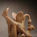 Pieza de cerámica de Gerit Grimm