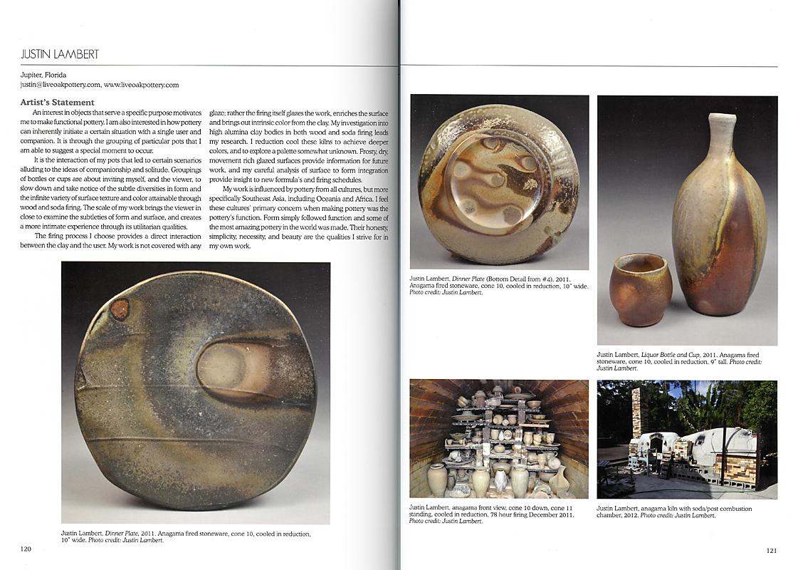 Páginas interiores del libro Wood-Fired Ceramics