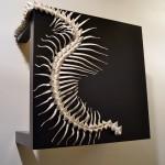 Escultura cerámica de Peephole-Art