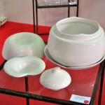 Pieza de cerámica de Alejandra Bañuelos