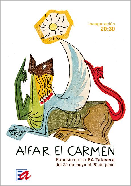 Cartel de la exposición del Alfar el Carmen