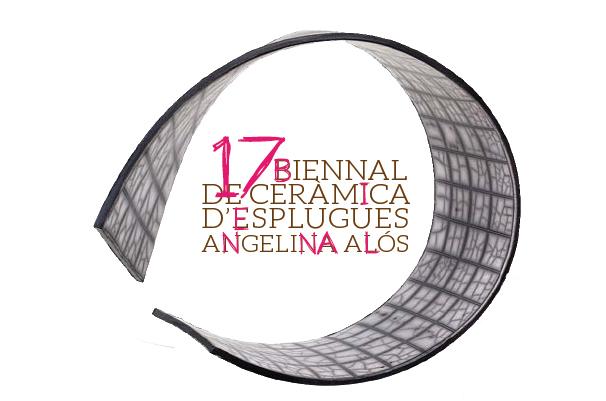 Logo de la Bienal de Cerámica de Esplugues Angelina Alos