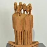 Escultura cerámica de Fernando Román