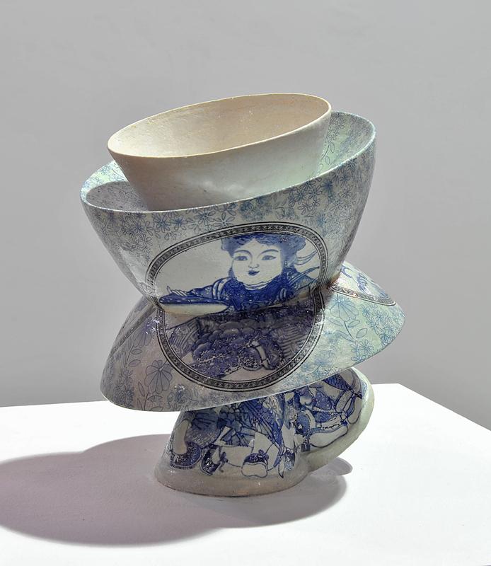 Pieza de cerámica de Kriss Campo