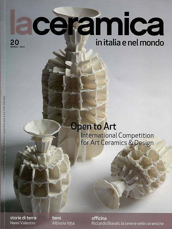 Portada del número 20 de la revista italiana La ceramica in Italia e nel Mondo