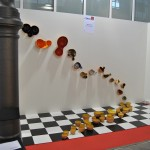 Instalación de cerámica de M.A.M.A. Colectivo Efímero