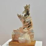 "Escultura cerámica de ""Orgánico"""
