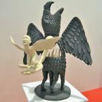"Escultura cerámica de ""Rayaduradesandia"""