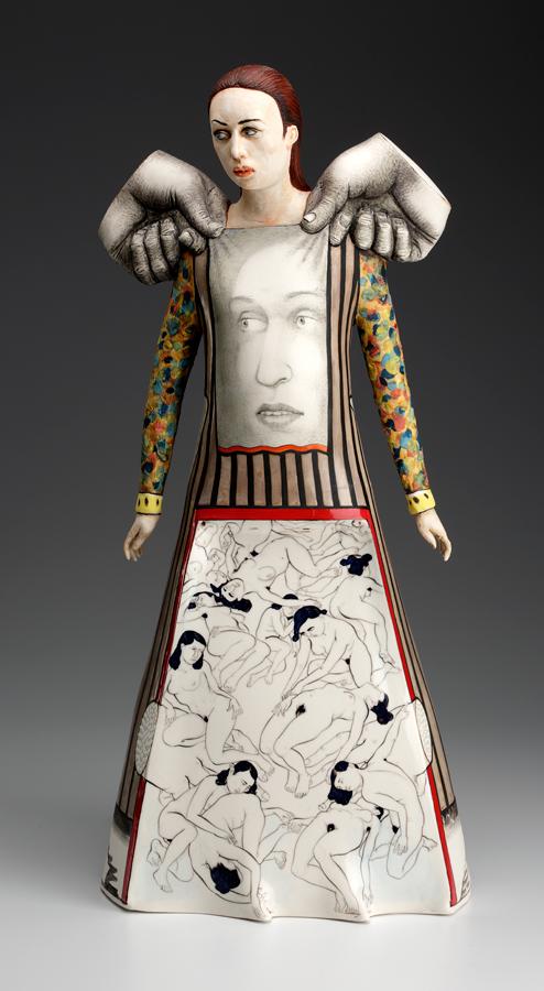 Escultura cerámica de Sergei Isupov